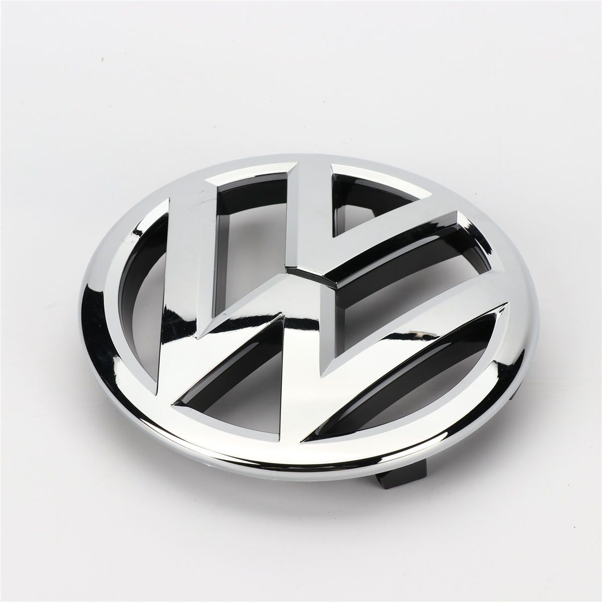 Chrome Front Grille Badge Emblem Decal 135mm for VW Passat B7 Touran Caddy 1T0 853 601 E