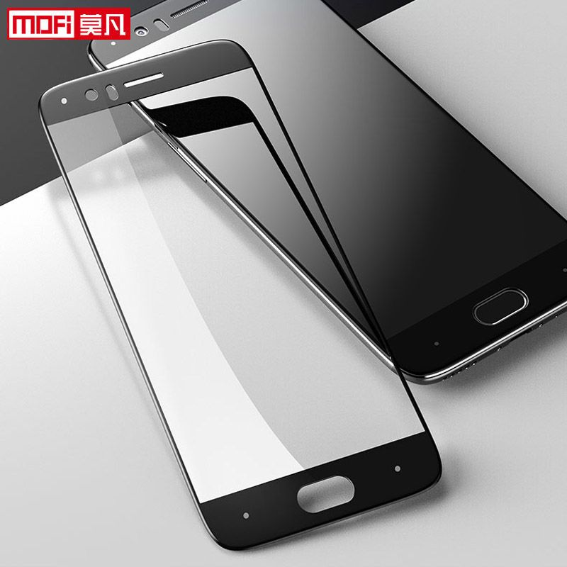 OnePlus 5 protecteur d'écran en verre OnePlus 5 verre trempé couverture complète Mofi protecteur de Film transparent Ultra mince pour OnePlus 5 verre
