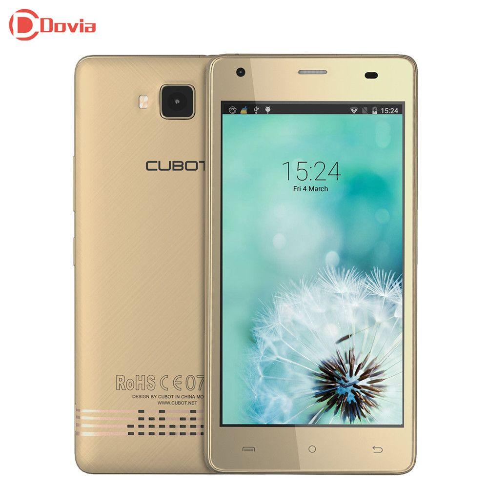 Clearance CUBOT Echo 5.0 inch 3G Smartphone Quad Core 2GB RAM 16GB ROM 13.0MP+5.0MP Dual Cameras OTG <font><b>3000mAh</b></font> Mobile Phone