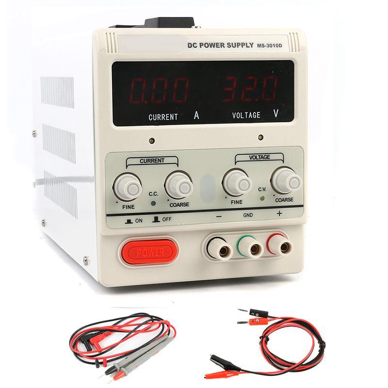 3010D Laboratory Lab Digital Adjustable Switching DC Power Supply 30V 10A 5A 120V 3A 60V 5A 0.1V 0.01A 110V - 220V for repair