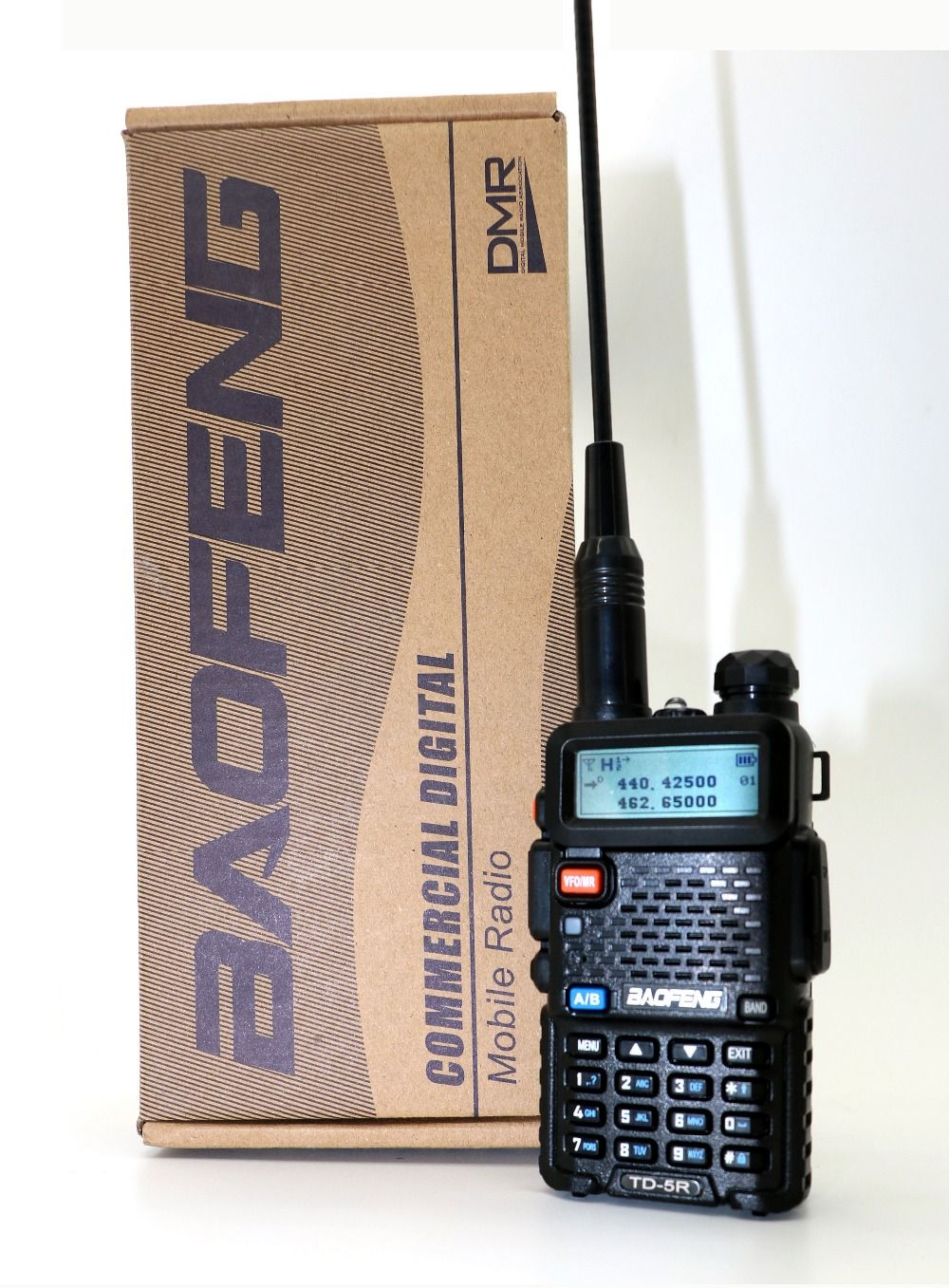 Baofeng Dual Time Slot TD-5R Portable Radio Dual Band tier2&tier1 DMR Walkie Taklie Digital Anolog dual mode DM-5R series Radio