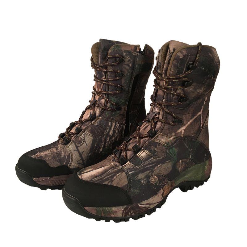 YUANJYUANOK Camo Jagd Stiefel Realtree AP Tarnung Stiefel Wasserdicht, Outdoor Camo Boot Jagd Angeln Schuhe Größe 39-45