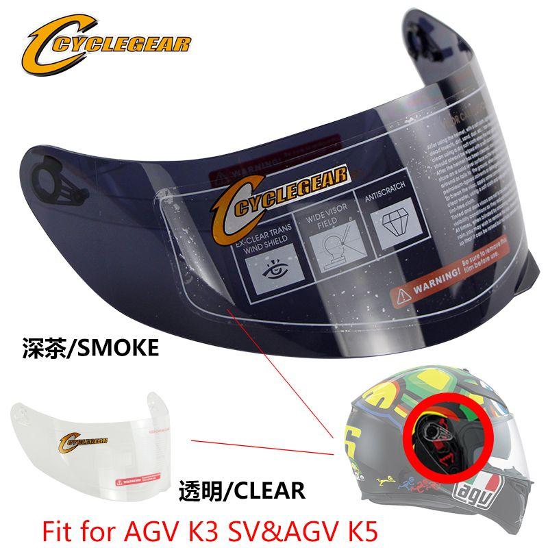 Date Arrivée Moto Visière de Casque Montage Pour AGV K5 & AGV K3 SV et CG902 & CG316