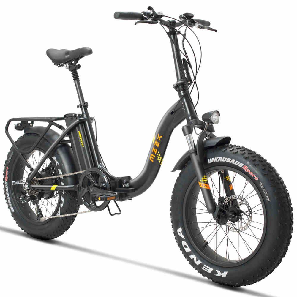 20 zoll elektrische falten fahrrad 48V500W Prinzessin schwan rahmen fett ebike schnee elektrische bike 4,0 verbreitert reifen strand ebike 25 -40 km/h
