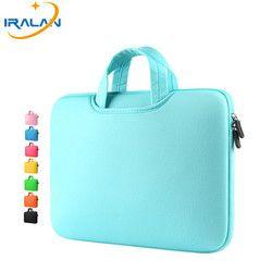 Горячая молния чехол для ноутбука Macbook AIR PRO retina 11 12 13 14 15 13,3 15,4 15,6 дюймов ноутбук Сенсорная панель сумка