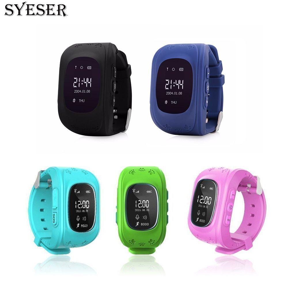 Syeser Q50 анти потеряла ребенка GPS трекер Smart Watch passomete GSM телефон с сим-карты дети GPS позиционирования часы для iOS android