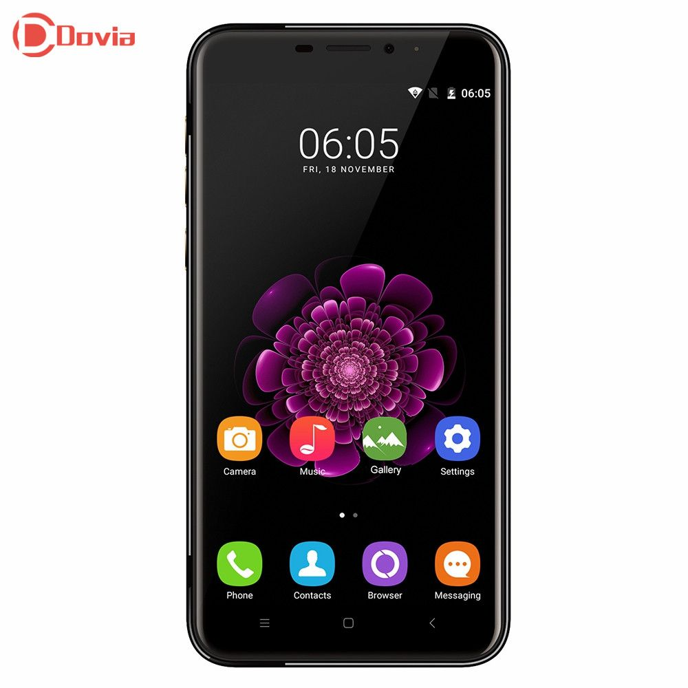 BRIGHT BLACK OUKITEL U20 Plus 4G Smartphone 5.5 inch MTK6737 Quad Core 2GB RAM 16GB ROM 5.0MP 0.3MP+13.0MP Cameras Mobile Phone