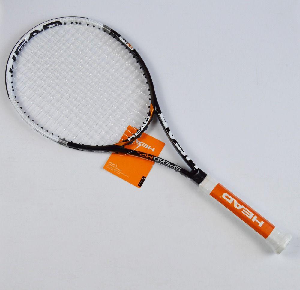tenis masculino Tennis Racket Racquet Racquets raquete de tennis Carbon Fiber Top Material tennis string