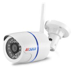 BESDER Yoosee Wifi ONVIF ip-камера 1080 P 960 P 720 P Беспроводная Проводная P2P сигнализация CCTV пулевидная камера наруэного наблюдения с слотом для sd-карты Max 64G