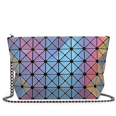 Лидер продаж лазерной BAOBAO сумка Для женщин Dazzle Цвет плед tote Повседневное Сумки Женская мода Сумки Блёстки зеркало Бесплатная доставка