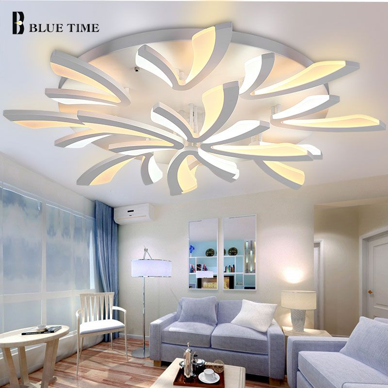 Popular Modern LED Ceiling Lights AC110V 220V Acrylic Led Ceiling Lamp For Living room Bedroom Dining room Home Light Fixtures
