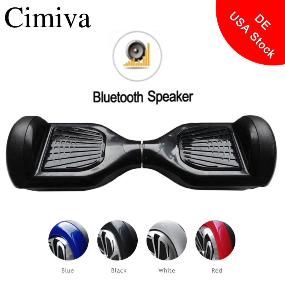 6,5 zoll Hoverboard Selbstausgleich Elektrische Strom Scooter Geroscope Zwei Rädern Skateboard mit Bluetooth Lautsprecher