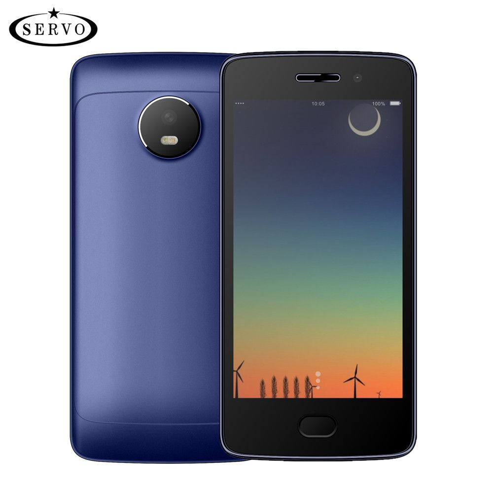 SERVO W380 Smart phone 4.5 Screen MTK6580M Quad Core <font><b>1.3GHz</b></font> Android 7.0 cellphone ROM 4GB Camera 5.0MP GPS WCDMA Mobile Phones