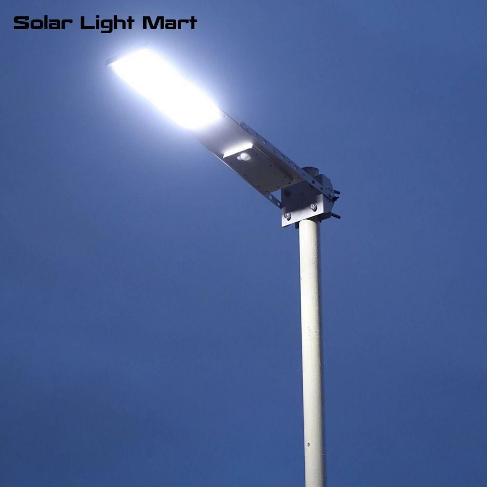 Alpha 2020X Outdoor Waterproof Motion Sensor Solar Powered LED Pole Wall Street Path Light For Garden 3 Working Modes