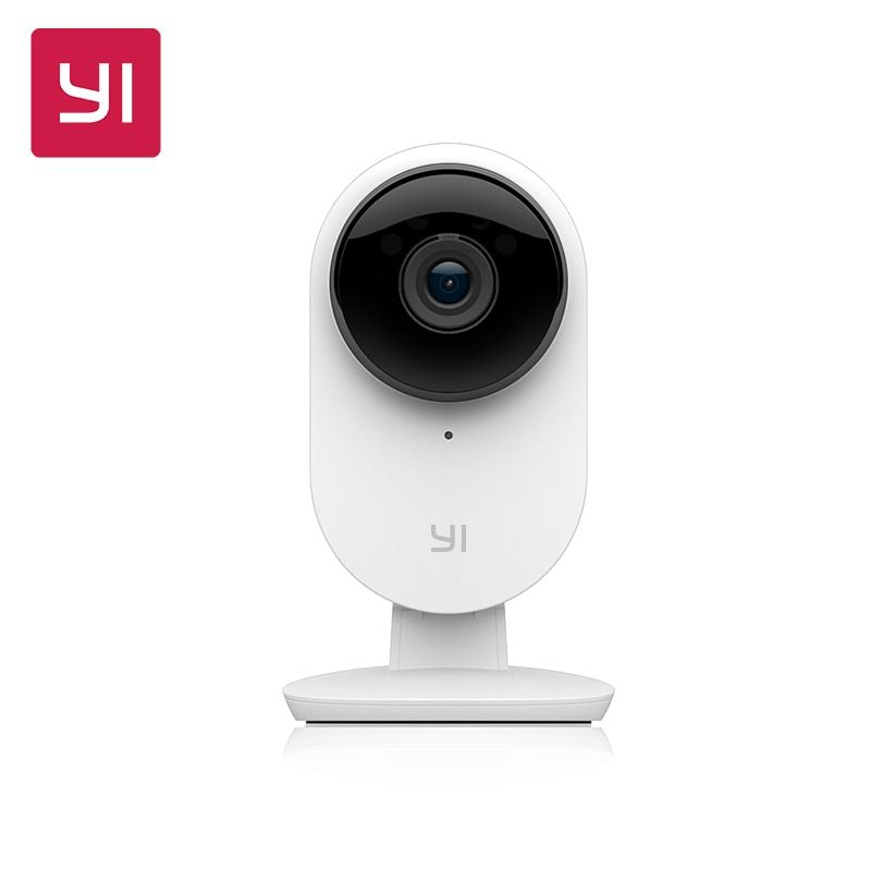Yi Home Camera 2 1080P HD Support APP Built-in microphone and loudspeaker Infrared Night Vision Security Detection Cloud Service