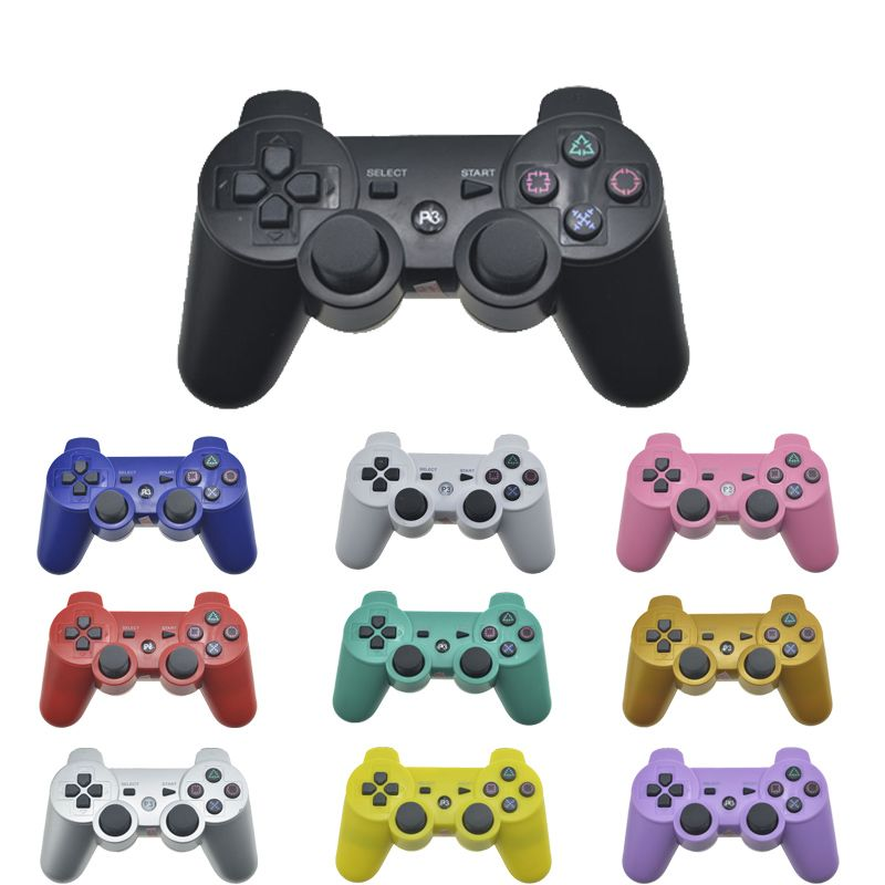 Wireless Bluetooth Remote Game Joypad Controller For PS3 Controle Gaming Console <font><b>Joystick</b></font> For PS3 Console Gamepads Replacement