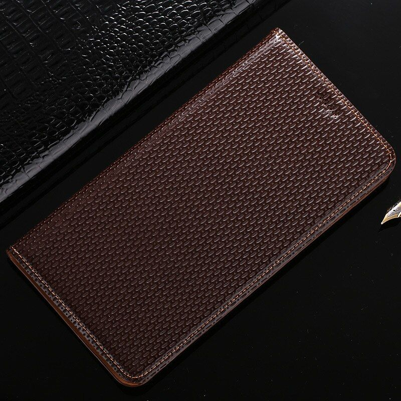 Genuine Leather Cover For Sony Xperia Z3 Z4 Z5 Compact Mini / Premium Plus Classic Magnetic Flip Stand Phone Case