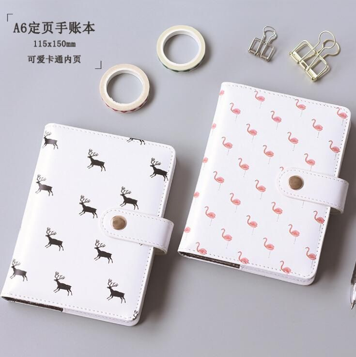 Fresh Flamingo Deer Hardcover Notebook Diary Pocket Notepad Promotional Gift Stationery