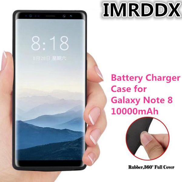 10000 mah Strom Fall für Galaxieanmerkung 8 Energienbank Ladegerät Fall für Samsung Note8 Batterie Fall