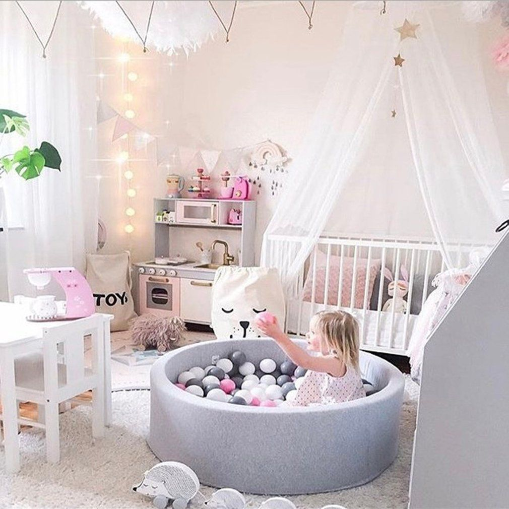 Fencing Manege Round Play Pool Baby Infant Ball Pool Pit for Baby Play Ocean Ball Funny Playground For Toddlers Game Tent Toy