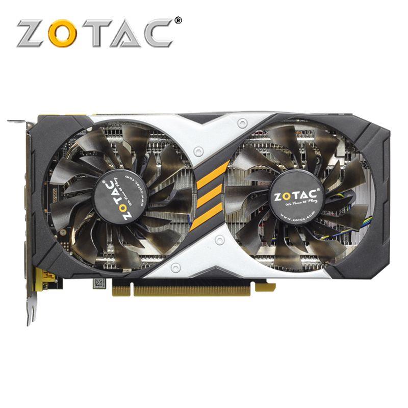 ZOTAC Video Card GeForce GTX950-2GD5 128Bit GDDR5 Graphics Cards for nVIDIA Original Map GTX 950 2G Devastators Hdmi Dvi