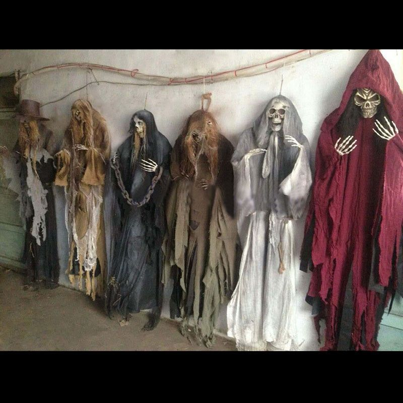 165 cm Halloween Hängen Geist Haunted Haus Flucht Horror Halloween Dekorationen Terror Scary Requisiten Thema Party Tropfen Ornament 1 pc