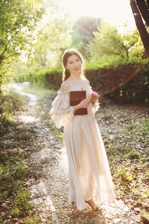 LYNETTE'S CHINOISERIE Summer Autumn Original Design Women Vintage Slim Lace Suspender Dresses
