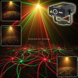 ESHINY New Mini 4in1 4 Patterns Whirlwind R&G Laser Projector Lighting Stage Disco DJ Club KTV Xmas family party light Show p17