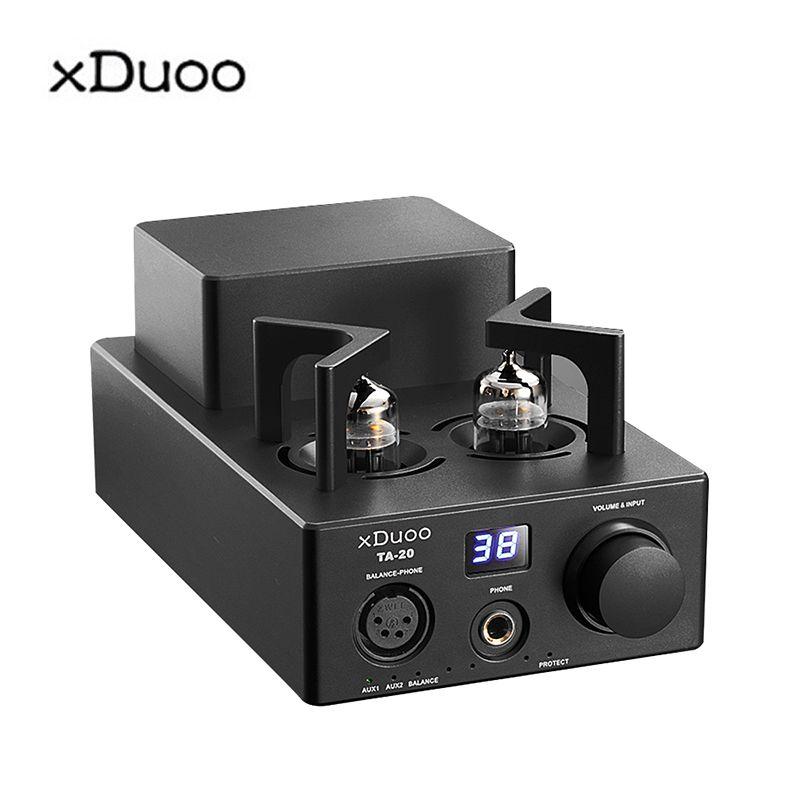XDUOO TA-20 HIFI Hohe Leistung Ausgewogene Klassische 12Au7 Rohr stereo audio kopfhörer Verstärker mit XLR AUX