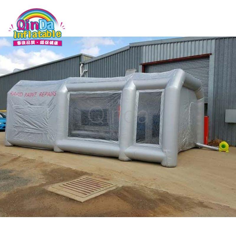 Standardgröße Tragbare Aufblasbaren Airbrush Auto Spray Lackierkabine Mit Kohlefilter