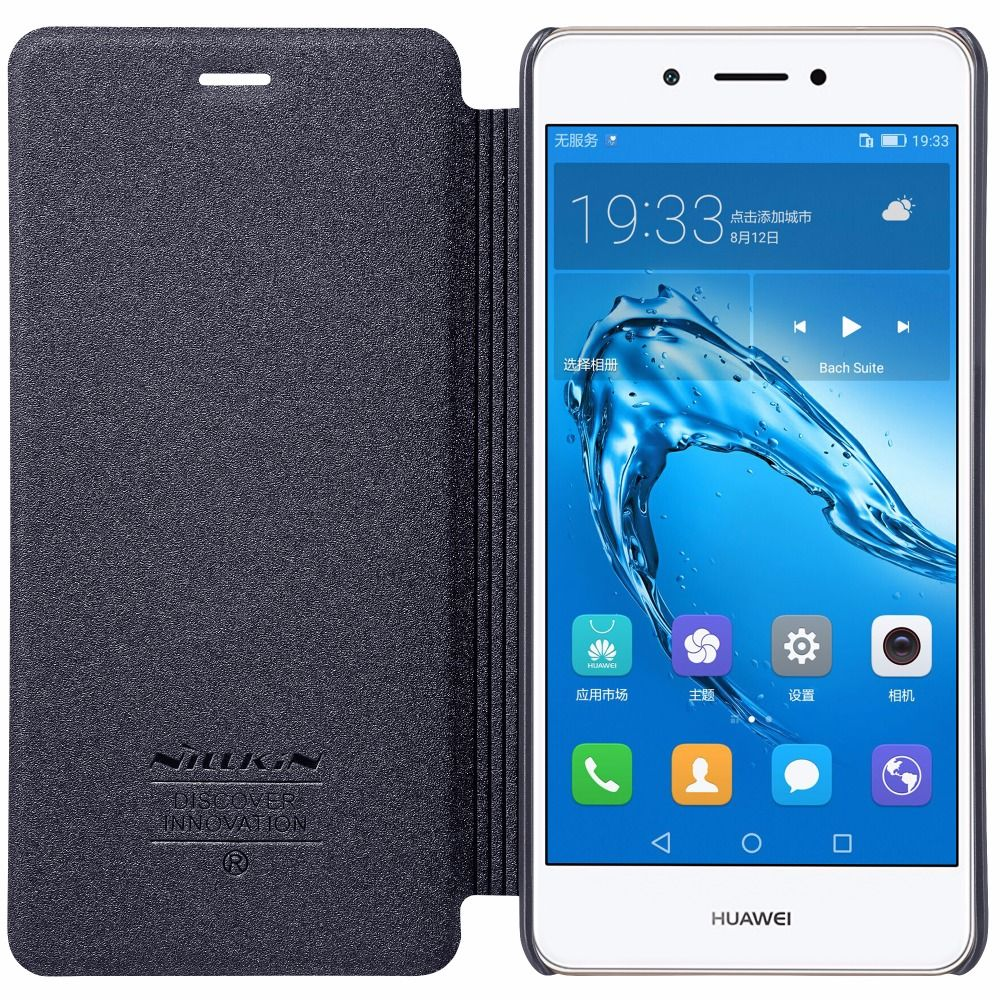 Huawei honor 6c 5.0 pouce cas Huawei honor 6c couverture NILLKIN Étincelle PU Housse En Cuir Flip Pour Huawei honor 6c