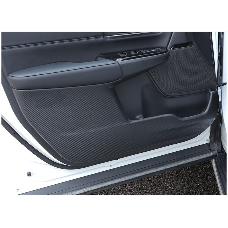 LSRTW2017 carbon fiber car door anti-kick film for honda crv honda cr-v 2017 2018 5th generation
