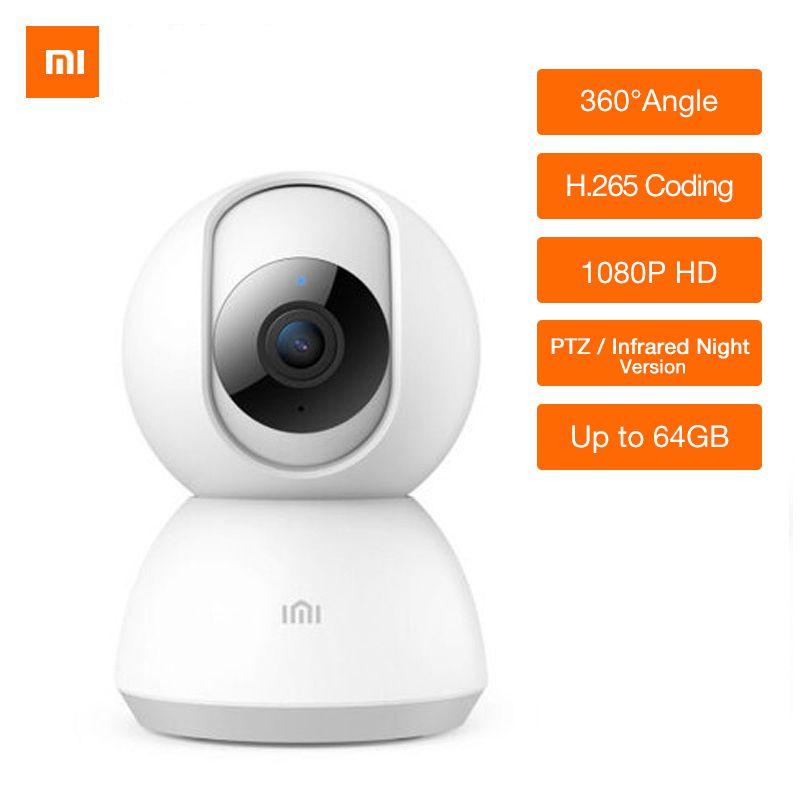 Updated Version Xiaomi Mijia 1080P HD Smart IP Camera 360 Angle Video CCTV WiFi Pan-tilt Night Webcam Baby Security Mornitor Cam