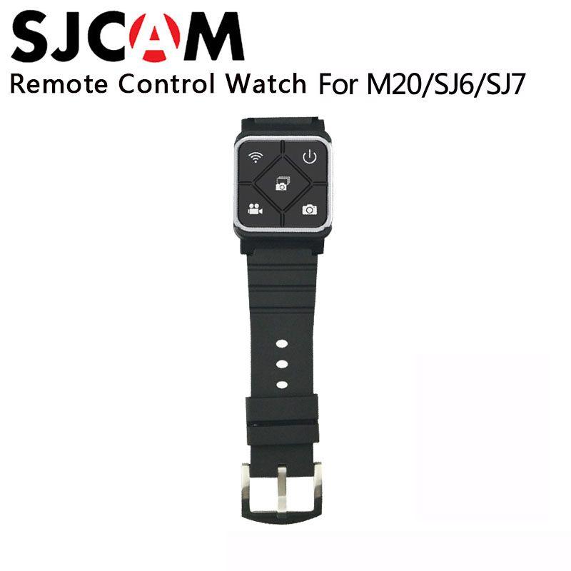 Ursprüngliche SJCAM SJ6 Zubehör Fernbedienung Uhr WiFi Handgelenk Band für SJ CAM M20 SJ6 LEGENDE SJ7 Star Sport Action kamera