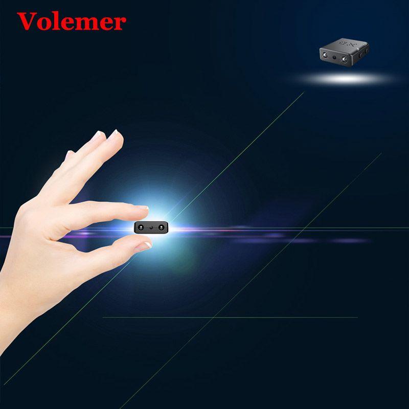 100% Original Volemer XD ir-cut Mini caméra 1080 P infrarouge Vision nocturne détection de mouvement Mini DV DVR caméra vidéo Support carte TF