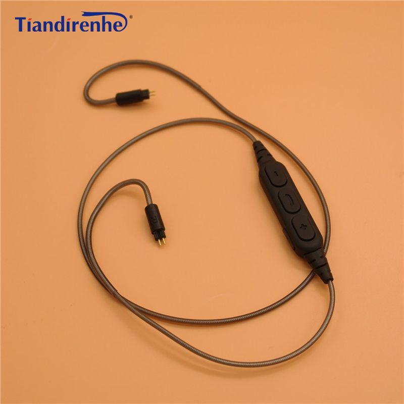 0.78 мм 2 Булавки Беспроводной Bluetooth кабель для Уэстон 1964 ue3x UE18 w4r um3x es5 tfz наушники гарнитуры для iphone xiaomi Android IOS