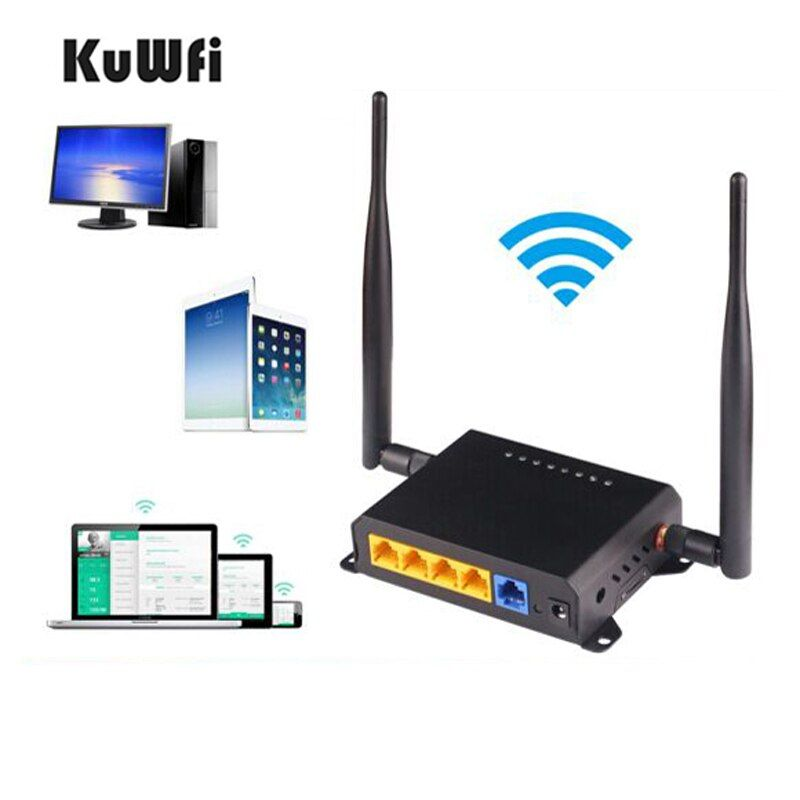 OpenWrt English Firmware 2.4G Wifi Repeater 300Mbps High Power Through Wall Wireless Router Strong Wifi Signal with 5dBi Antenna
