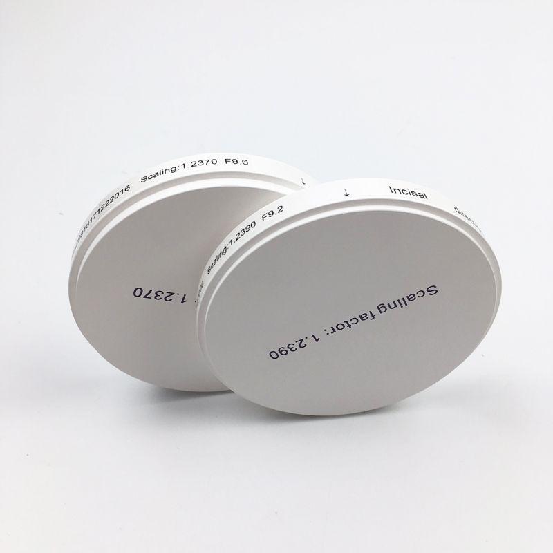 98*16mm AT multilayer dental zirconia ceramic block zirconia disc with 16 shades