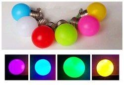 Coloré LED E27 B22 1 W 3 W 5 W bleu vert violet rgb 110 V 220 V Économie D'énergie LED Balle De Golf Ampoule Globe Lampe de noël lampe