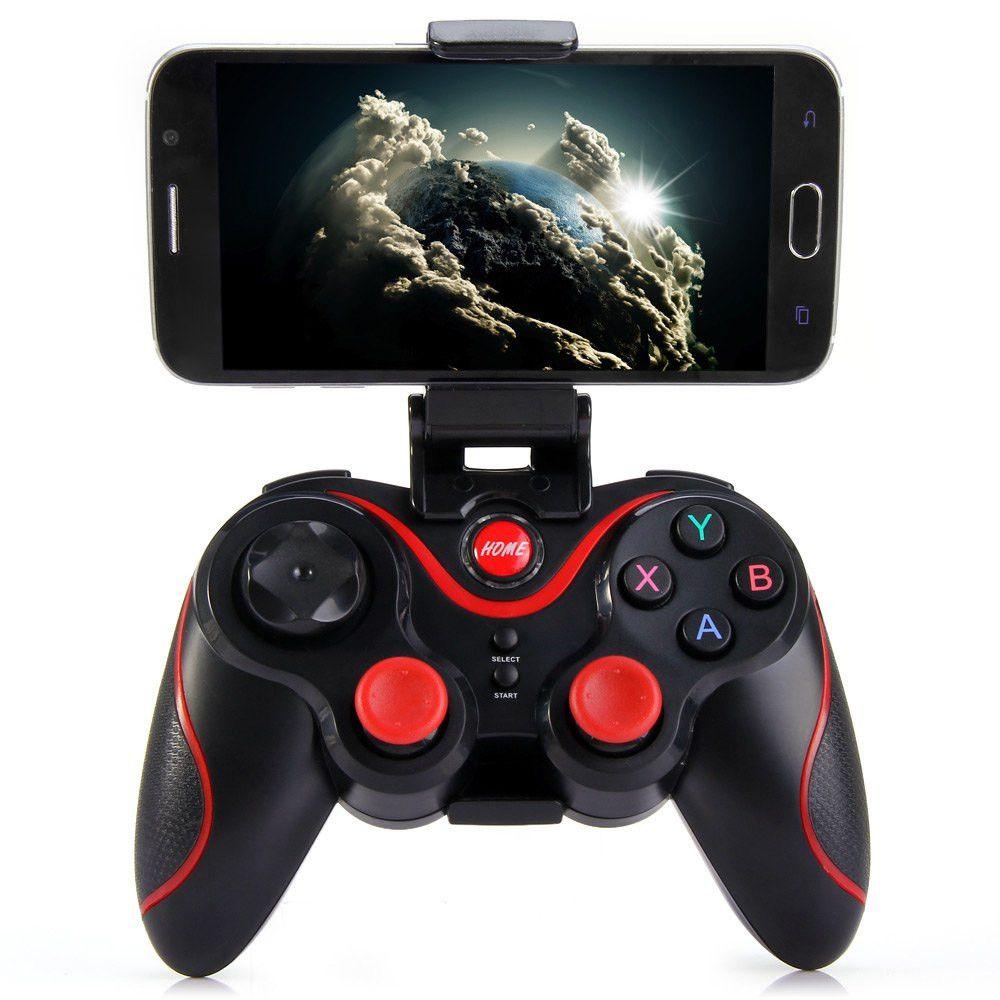 S3 joystick bluetooth téléphone Intelligent Contrôleur de Jeu Sans Fil Bluetooth 3.0 Téléphone Gamepad contrôleur smartphone joysticks PK T3