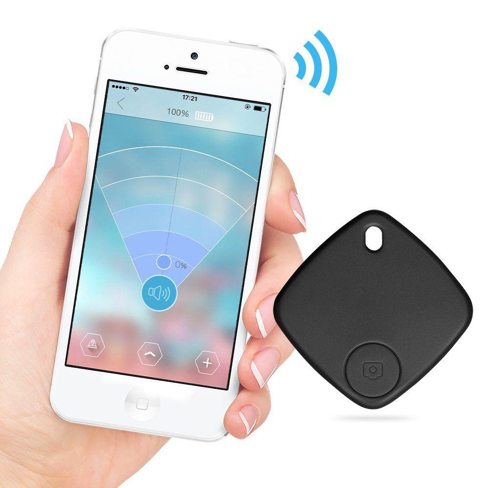 Wireless Smart finder bluetooth Anti-Lost Alarm Wireless Remote Shutter GPS Tracker Alarm Keychain for phone Kids Keys Pets etc.