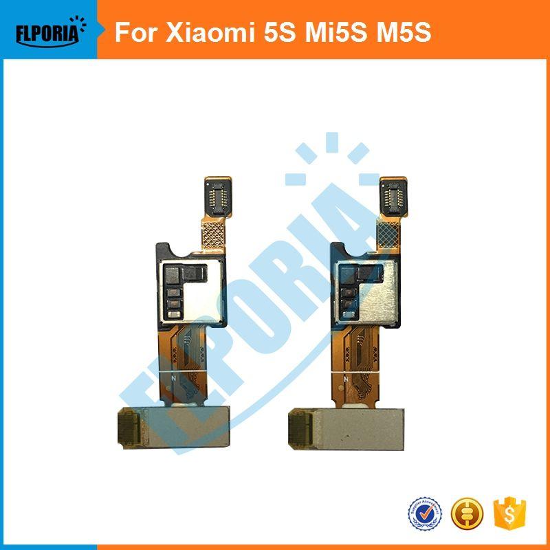 FLPORIA 1PCS For Xiaomi 5S Mi5S M5S Home Button Fingerprint FlexCable Replacement Parts free shipping