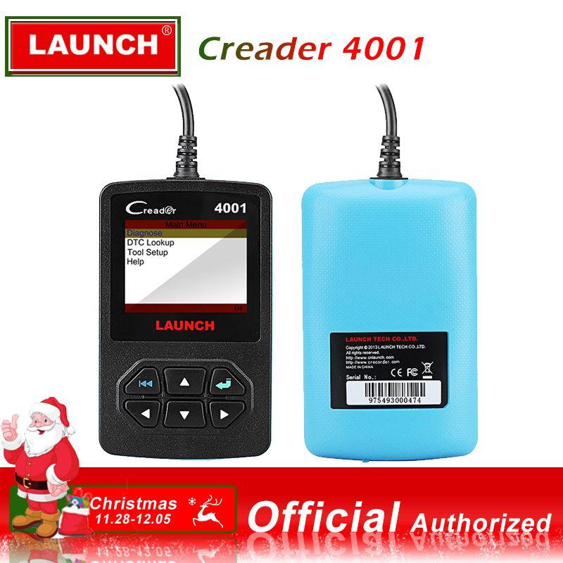 Launch CReader 4001 Cr4001 OBD2 Car Scanner Fault Code Reader OBDII Diagnostic Scan Tool Autoscanner OBD2 EOBD Scaner Diagnostic
