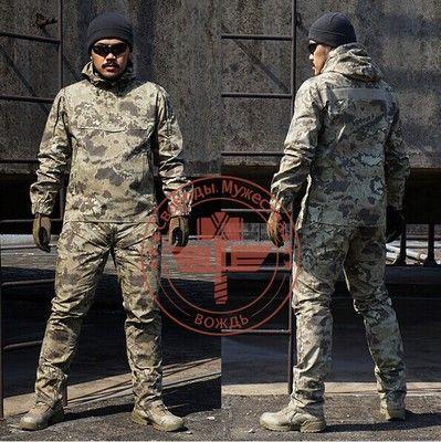 Army military tactical cargo pants uniform waterproof camouflage tactical military uniform us army men clothing set