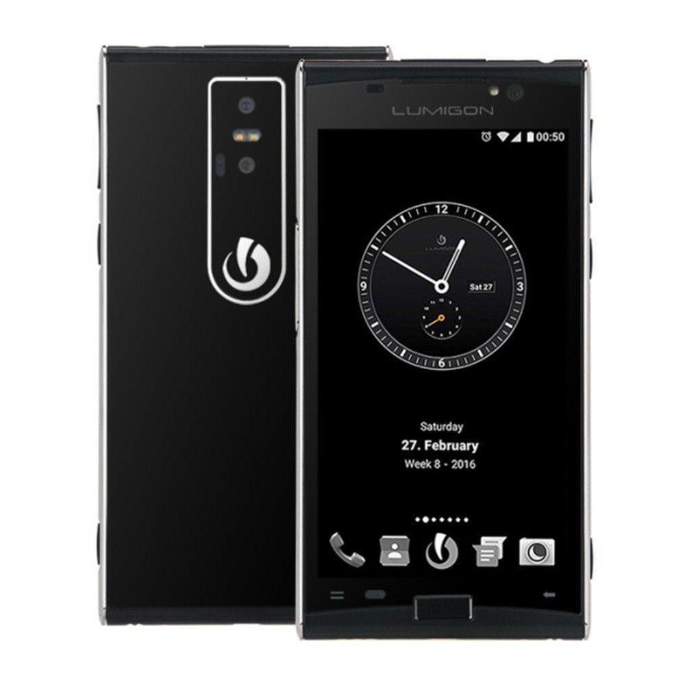 LUMIGON T3 3GB RAM 128GB ROM MTK6795 2.0GHz Octa Core 4.8 Inch HD Screen Android 6.0 4G LTE Smartphone