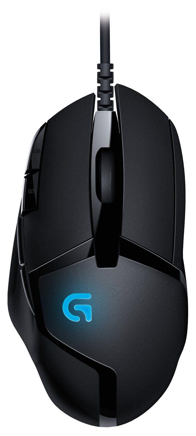 Logitech G402 Hyperion Fury FPS Gaming Mouse with High <font><b>Speed</b></font> Fusion Engine