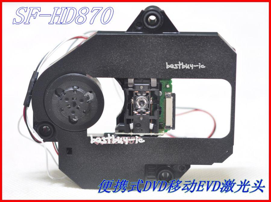 SF-HD870/hd870/SFHD870 с dv520 механизм dv520 (hd870) пластиковые механизм Портативный EVD ЭЗВД Mobile DVD линзы лазера SF hd870