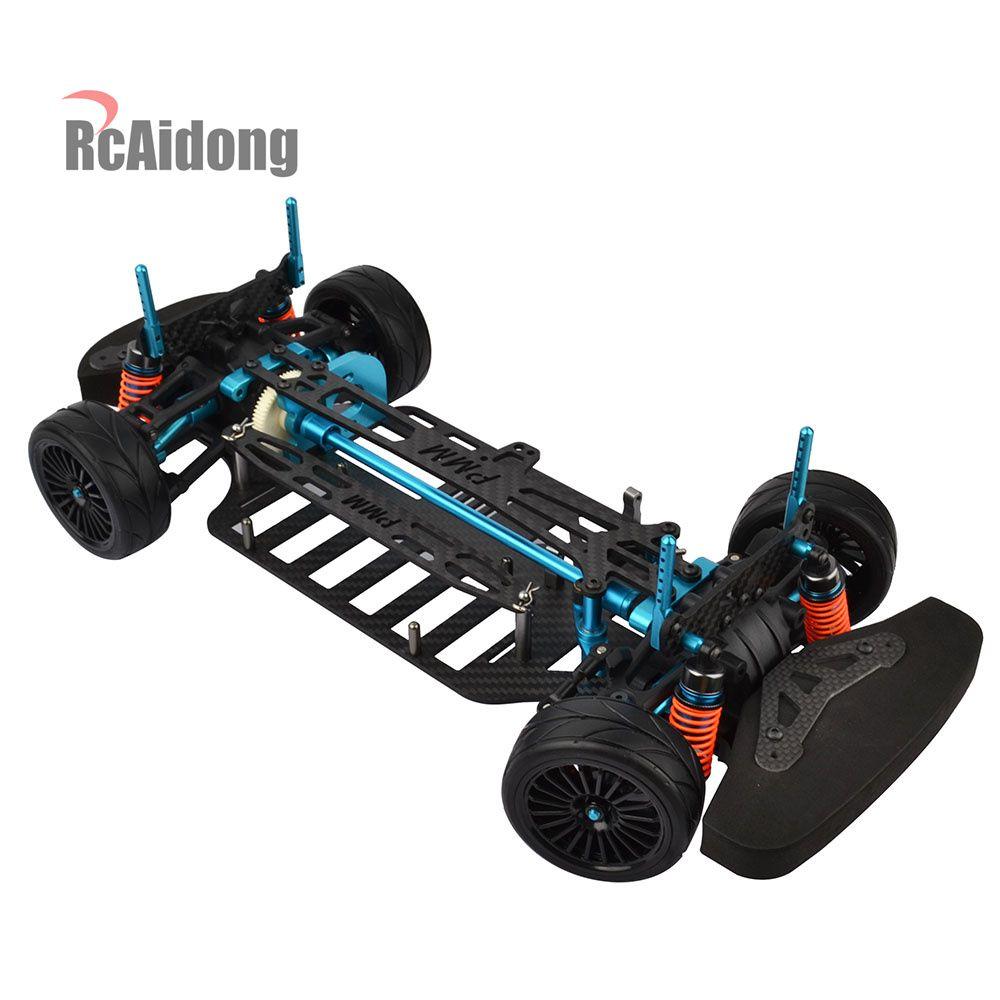 1/10 RC Auto Rahmen Körper Kit für 1/10 RC 4WD Touring Auto On-Road Drift Auto
