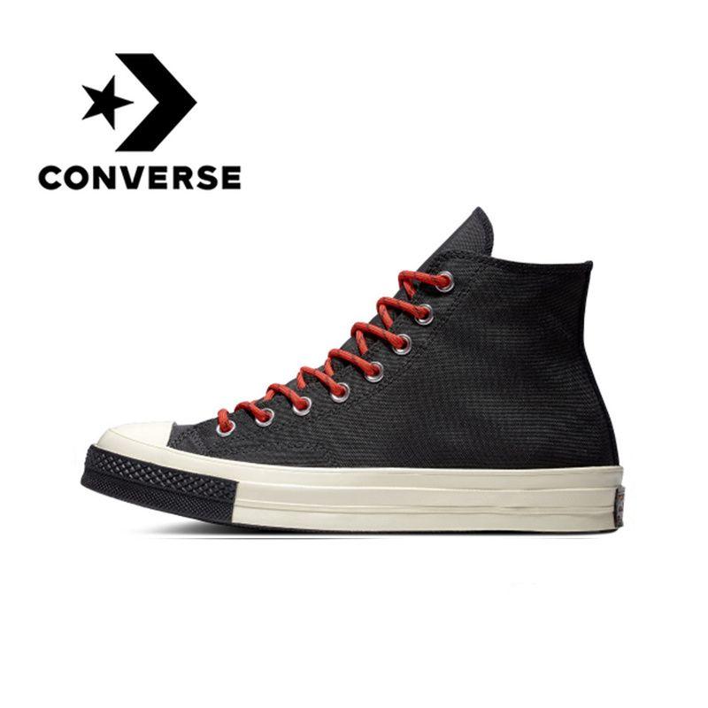 Original Converse Skateboard Leinwand Schuhe 1970 s Unisex Klassische Leinwand High Top Neue Bequeme Unterstützung Schock-absorbierende 2019