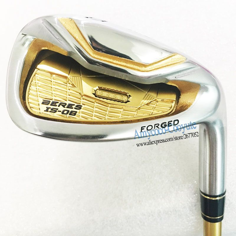 New Golf Clubs HONMA S-06 4Star Golf Irons 4-11Sw HONMA IS-06 Clubs Irons NSPRO 950 Golf Steel shaft R or S Flex Free shipping